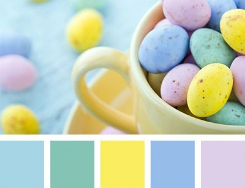 Color Palettes: Farbinspiration getarnt als Osterquicky
