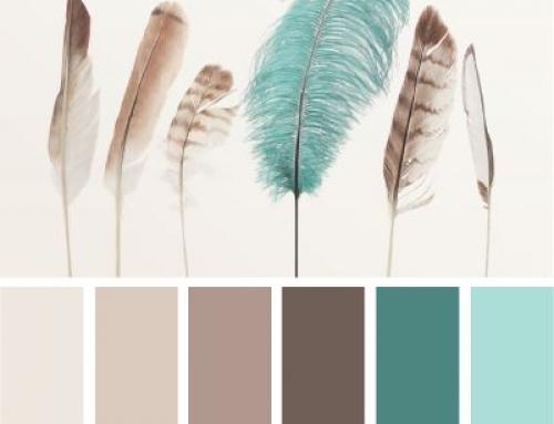 Color Palettes: Farbinspiration von Nude bis zartes Porzellanblau