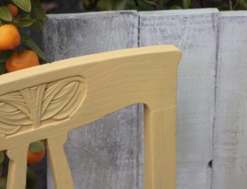 DIY-Fotountergrund: Holzfotountergrund im Shabby-Look selber machen