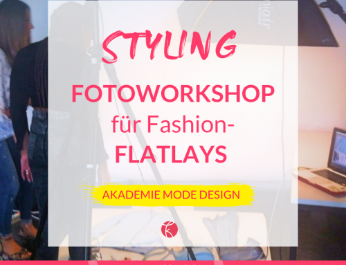 Stylingworkshop für Fashion-Flatlays an der Akademie Mode Design
