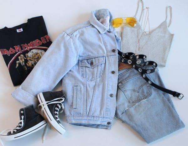 Stylingworkshop Fashion-Flatlay