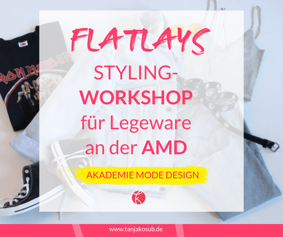 Flatlay Workshop Styling an der AMD
