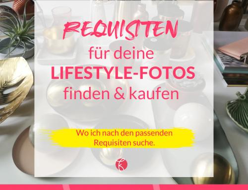 Passende Requisiten für deine Lifestylefotos finden & kaufen