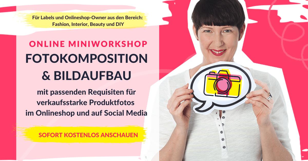 Miniworkshop Produktfotografie