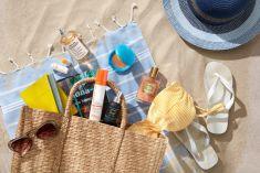 Props & Flatlay-Styling Thema Travel Beach
